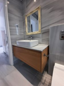 Bathroom, vanity unit